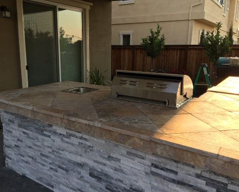 this image shows concrete countertops in walnut creek
