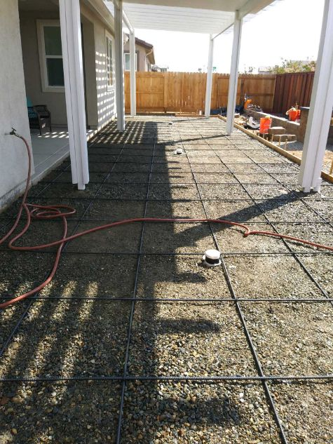 this image shows concrete foundation process in walnut creek