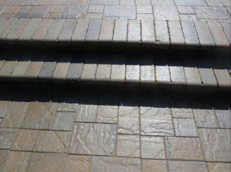 this is an image of concrete steps in walnut creek
