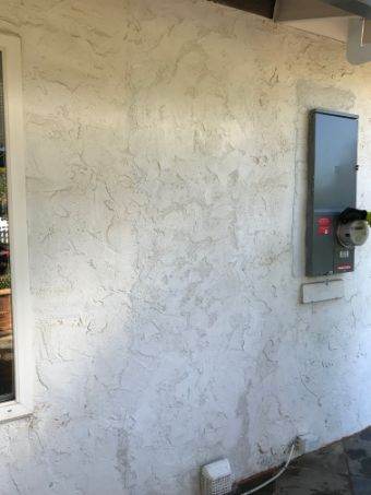 this image shows a concrete wall in walnut creek