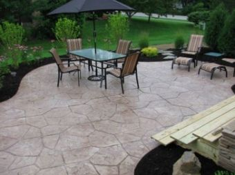 this is an image of flagstone patio in walnut creek