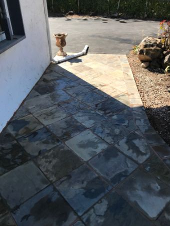 this image shows stamped concrete in walnut creek